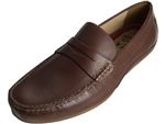 Florsheim: Oval Penny Driver Cognac Smooth