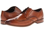 Florsheim Castellano Wingtip Oxford Saddle Tan