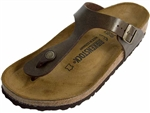 Birkenstock: Gizeh Golden Brown