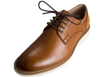 Florsheim: Union Plain Toe Oxford Cognac Smooth