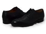Johnston & Murphy: Beckwith Wingtip Black Calfskin