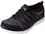Skechers: Gratis Shake it Off Black/Grey
