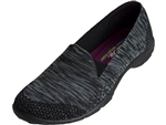 Skechers: Looking Good Black Charcoal