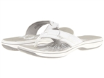 Clarks Breeze Sea White Sandal