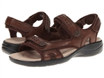 Clarks Morse Tour Brown Sandal