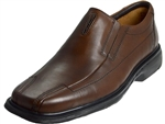Clarks: Un.Sheridan Brown Leather