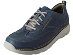 Clarks: Charton Mix Navy Leather