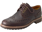 Clarks: Montacute Wing Chestnut