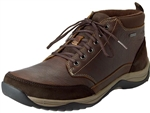 Clarks: Baystone Top GTX Brown