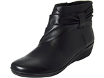 Clarks: Everlay Mandy Black Leather