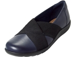 Clarks: Medora Jem Navy Leather