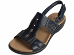 Clarks: Leisa Lakelyn Navy Leather