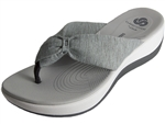 Clarks: Arla Gilson Grey Heather Fabric
