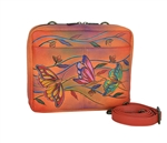 Crossbody Travel Org. Angel Wings Tangerine