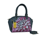 Mini Convt. Tote Dreamy Dahlias Pink