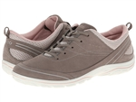 Ecco Arizona Tie Warm Grey-Rose Dust