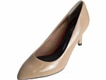 Rockport: 75MM Pointy Toe Pump Warm Taupe