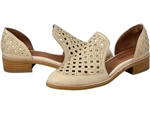 Jeffrey Campbell: Case Cut Beige Loafer
