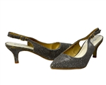 Lady Couture: Chic Jax Slingback Heel Champagne