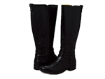 Bussola: Trapani Knee-High Riding Boots Black