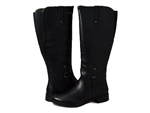 Bussola: Trapani Knee-High Water Repellent Black