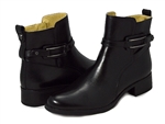 Bussola: Siena Metal Ring Mid-High Booties Black