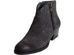 Bussola: Annie Charcoal Suede