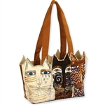 Ancestral Cats Med. Tote