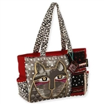 Whiskered Cat Med. Tote