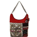 Whiskered Cat Med. Scoop Tote