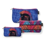 Embracing Horses 3 Cosmetic Bag Set