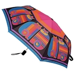 Rainbow Cat Cousins Compact Umbrella