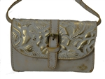 Torri Crossbody Wht Gold