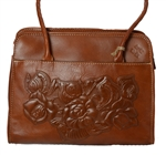 Lrg. Paris Satchel Tooled Florence