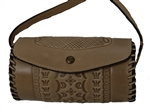 Amatrice Crossbody Tooled Sand