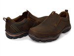 Skechers: Relaxed Fit: Montz - Devent Dark Brown