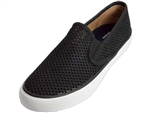 Sperry Topsider: Seaside Perforated Black