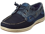 Sperry Topsider: Songfish Metallic Sparkle Navy