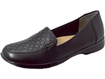 Trotters: Jenn Laser Black Leather
