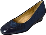 Trotters: Langley Navy Quilted