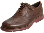 Rockport: TM Fusion Wing Tip New Caramel Leather