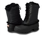 Hunter Boots: Original Patent Pac Boots Black