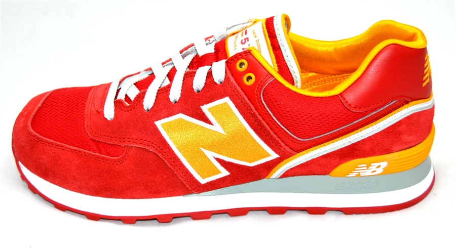 new balance ml574 yellow