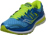 Saucony: triumph iso2 blue womens  running