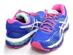 Asics Gel Nimbus 17 Deep Blue/White/Hot Pink