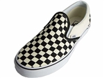 Vans: Classic Slip-On Black White Checkerboard