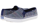 Keds Double Decker Woven Stripe Navy