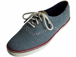 Keds: wf56426 Champion Pennant Denim