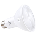 Green Creative PAR 30, 13 Watt, E26 Base, Refine Series, 120V Dimmable, White Standard Finish- View Product