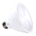 Green Creative PAR 30, 13 Watt, E26 Base, Short Neck, Refine Series, 120V Dimmable, White Standard Finish- View Product